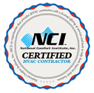 For your Heater repair in Aurora ON, trust a NCI certified contractor.
